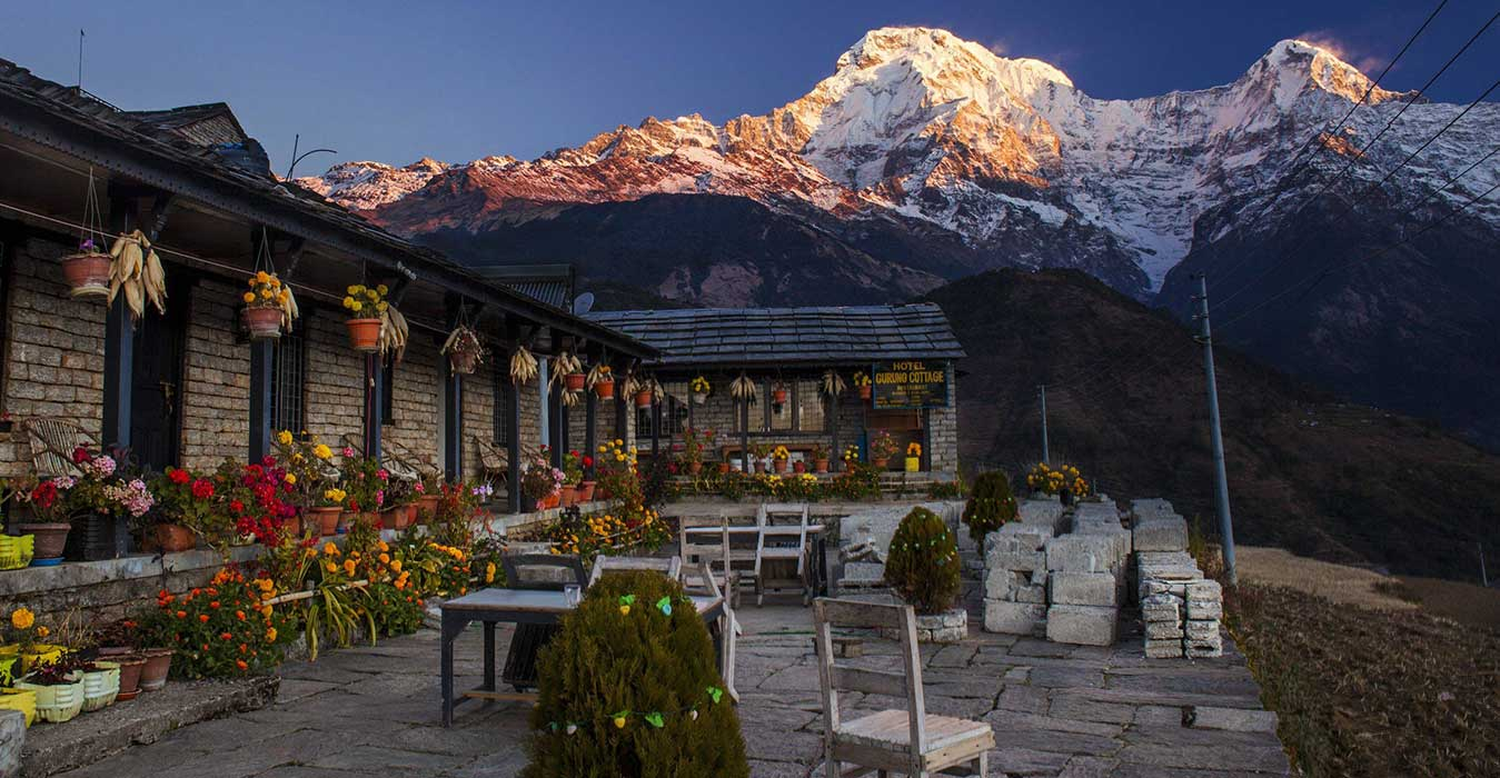 what are nepal tea houses like